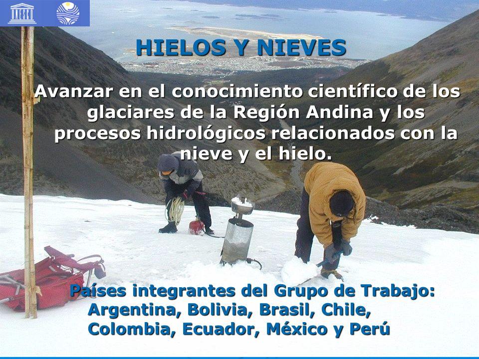 HIELOS Y NIEVES