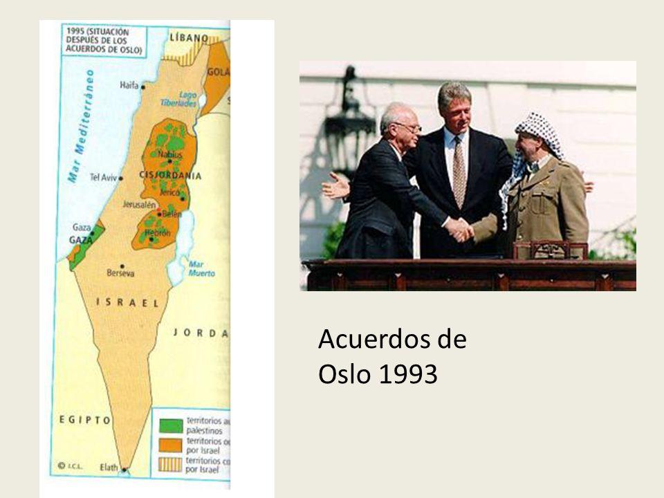 Acuerdos de Oslo 1993