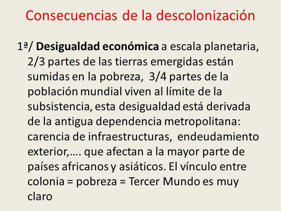 Consecuencias de la descolonización