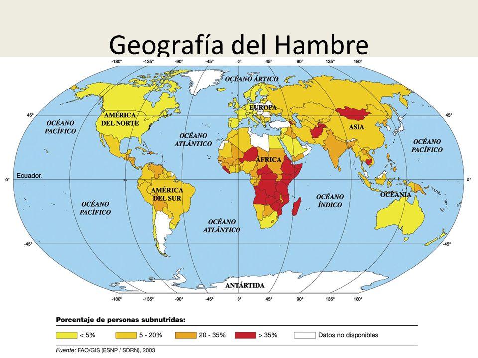 Geografía del Hambre