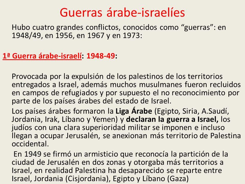 Guerras árabe-israelíes