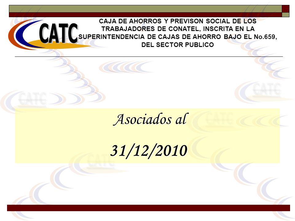31/12/2010 Asociados al CATC CATC CATC CATC CATC