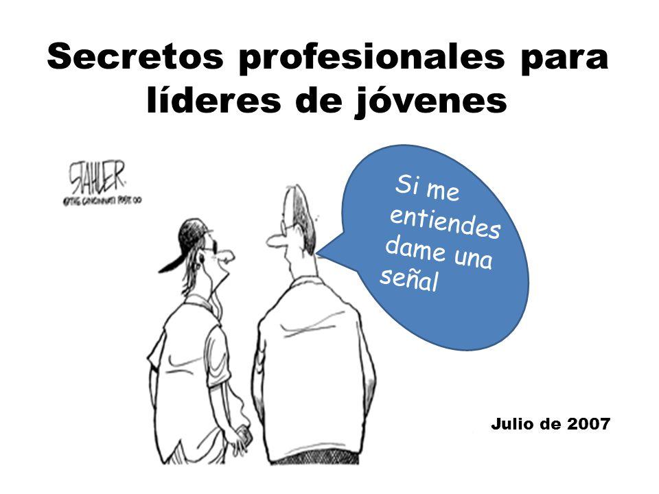 Secretos profesionales para