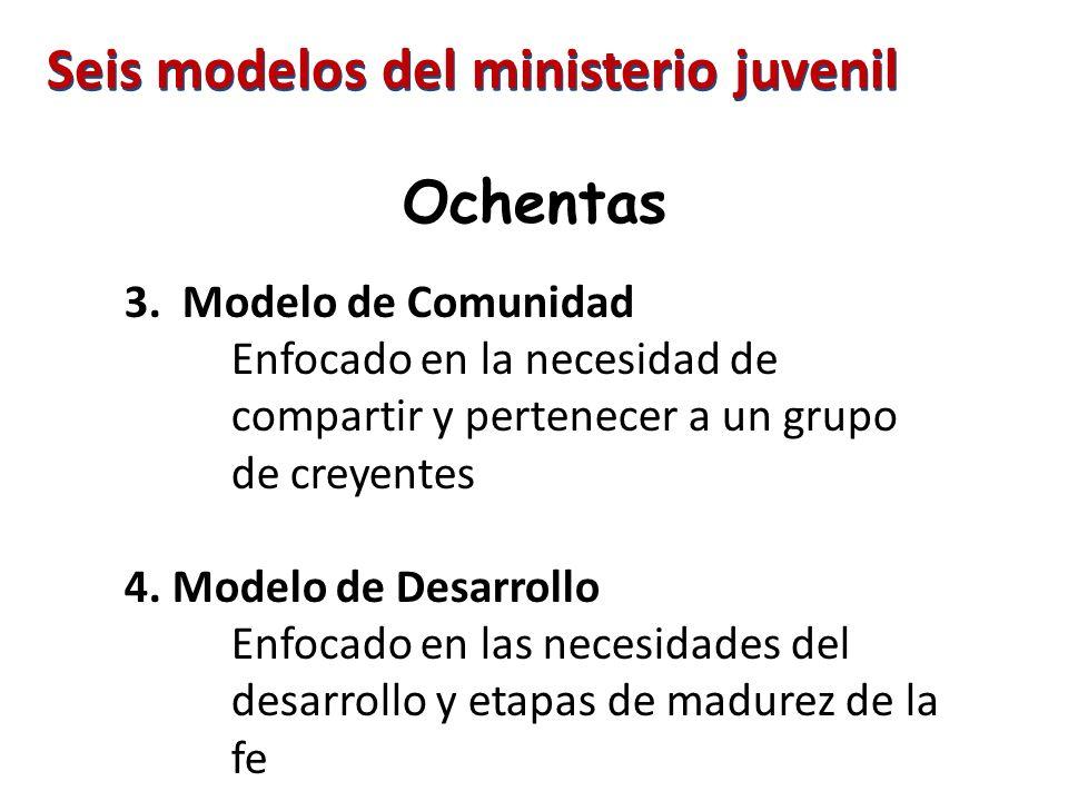 Seis modelos del ministerio juvenil