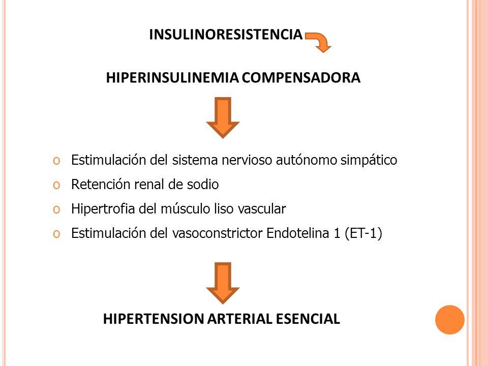 HIPERINSULINEMIA COMPENSADORA
