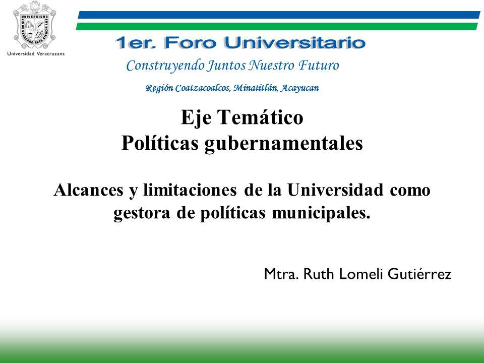 Mtra. Ruth Lomeli Gutiérrez