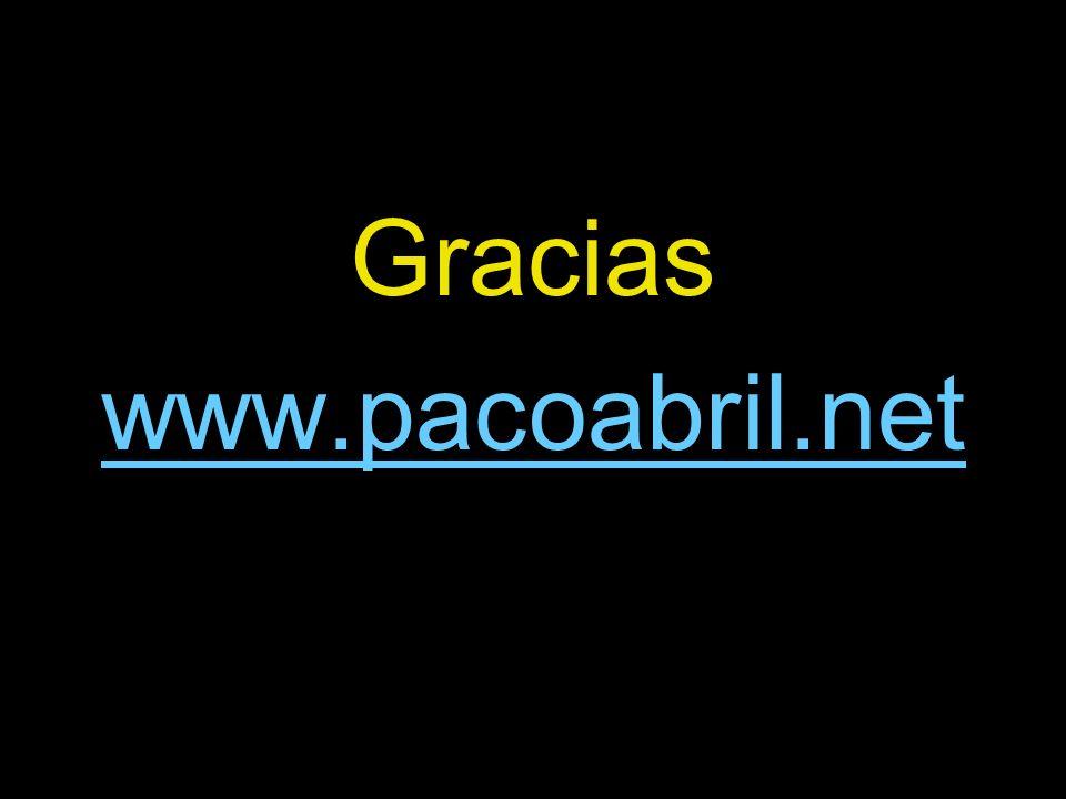 Gracias www.pacoabril.net