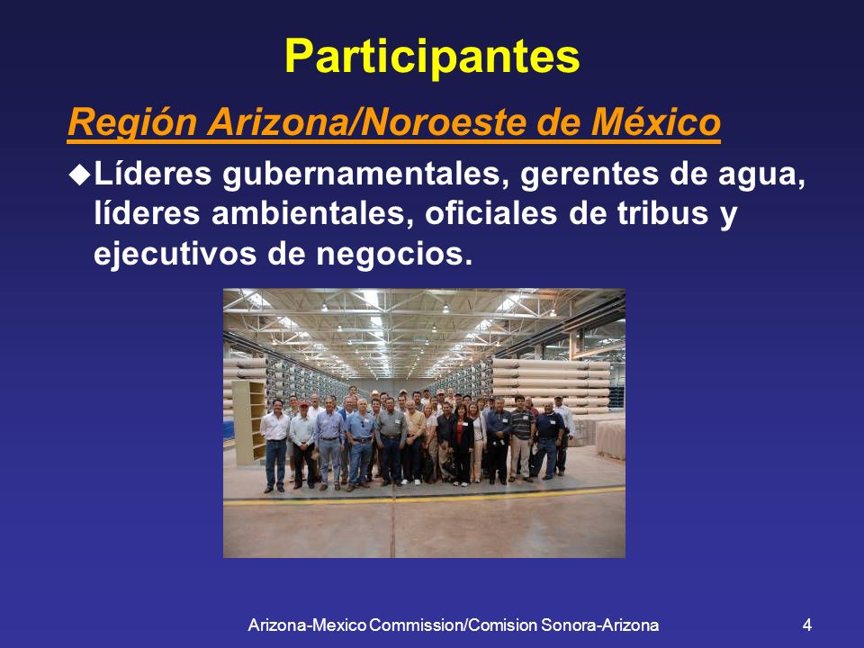 Arizona-Mexico Commission/Comision Sonora-Arizona