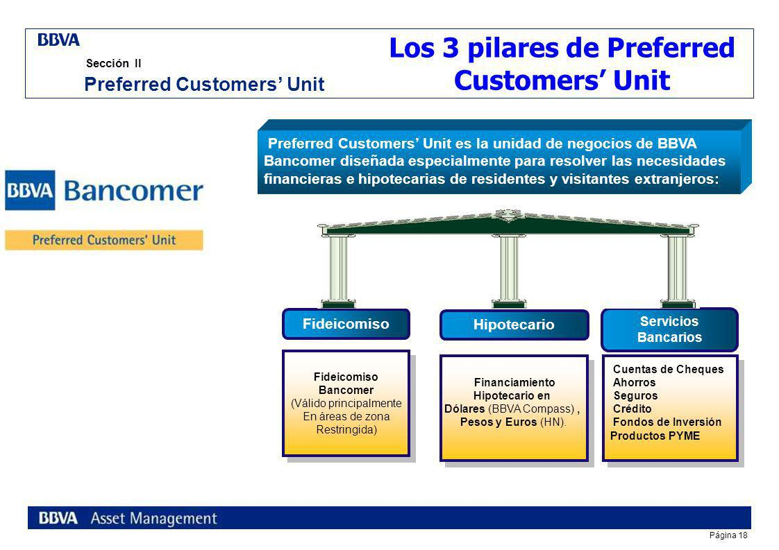 Los 3 pilares de Preferred Customers' Unit Preferred Customers' Unit