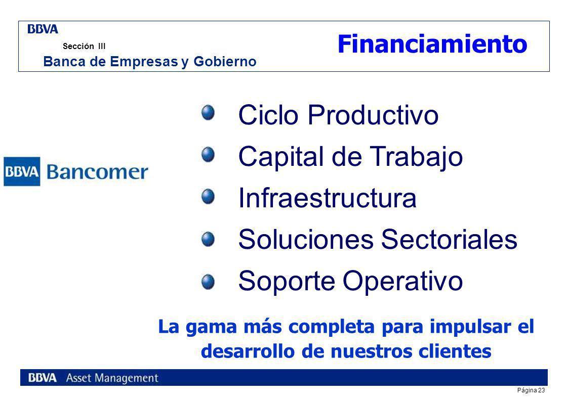 Soluciones Sectoriales Soporte Operativo