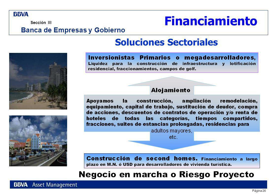 Banca de Empresas y Gobierno Soluciones Sectoriales