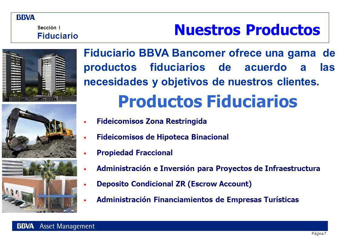 Productos Fiduciarios