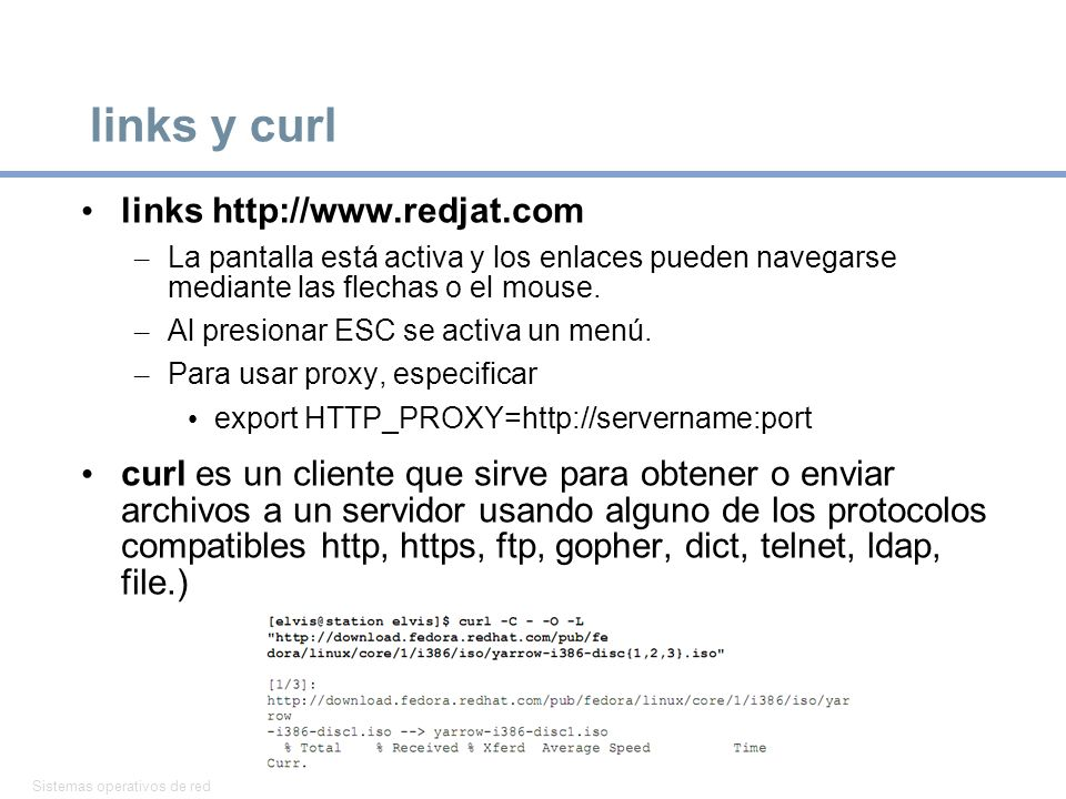links y curl links http://www.redjat.com