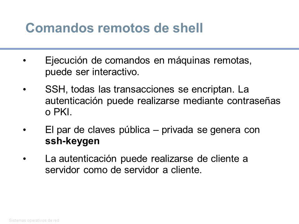 Comandos remotos de shell
