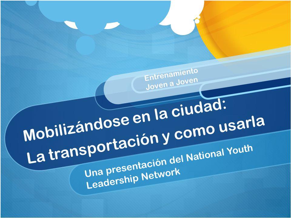 Mobilizándose en la ciudad: La transportación y como usarla