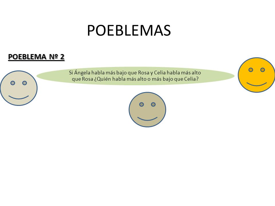 POEBLEMAS POEBLEMA Nº 2.