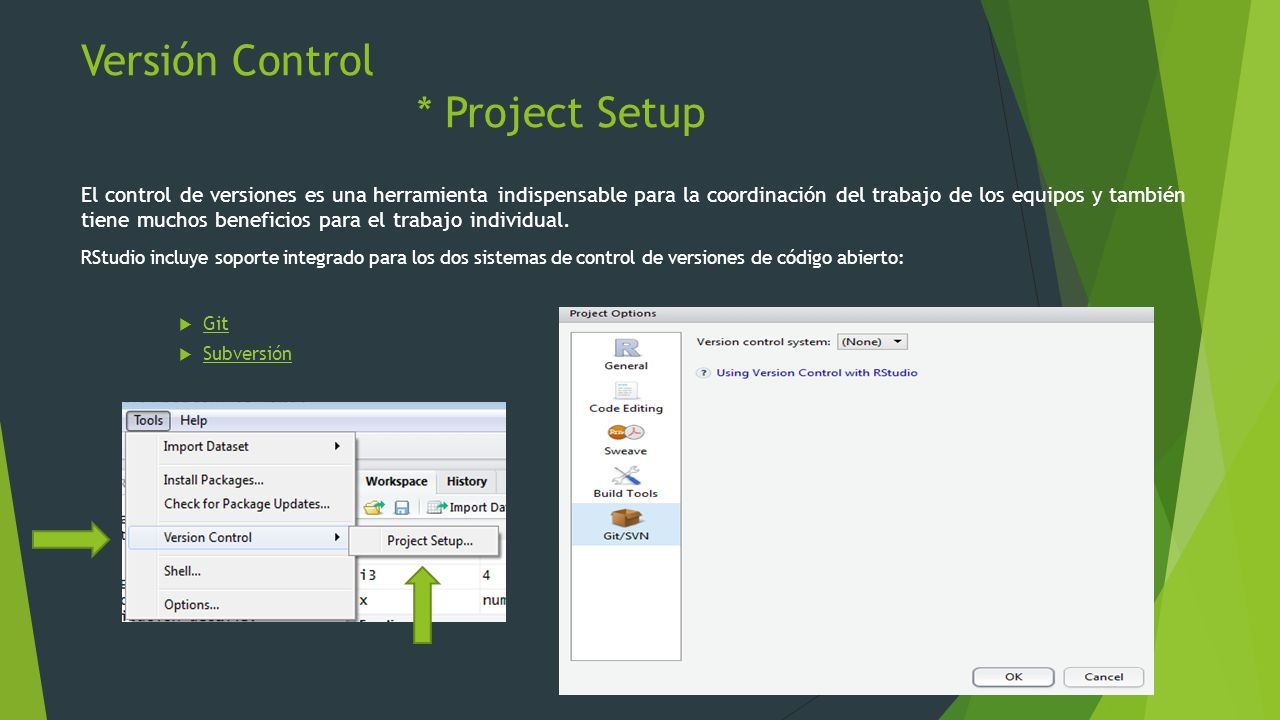 Versión Control * Project Setup