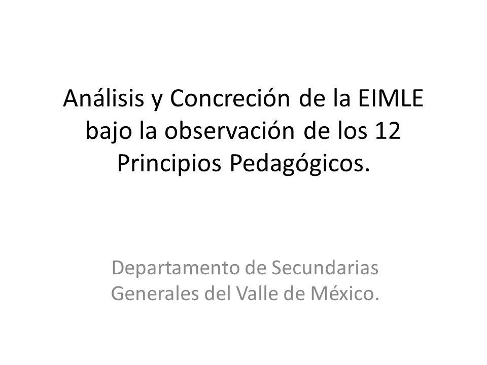 Departamento de Secundarias Generales del Valle de México.