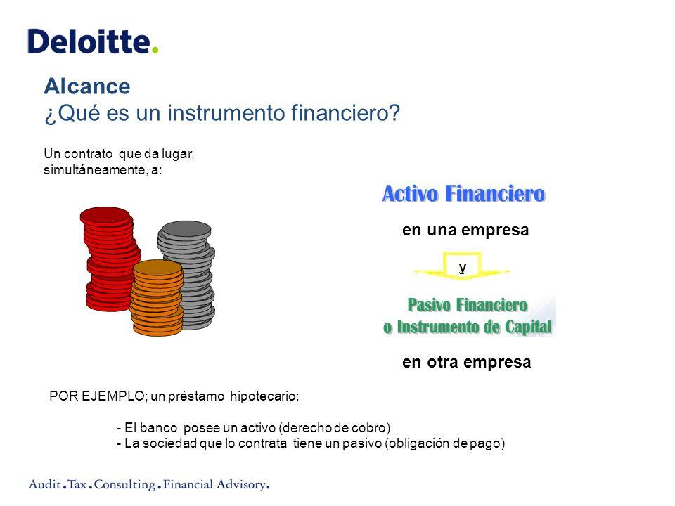 ¿Qué es un instrumento financiero