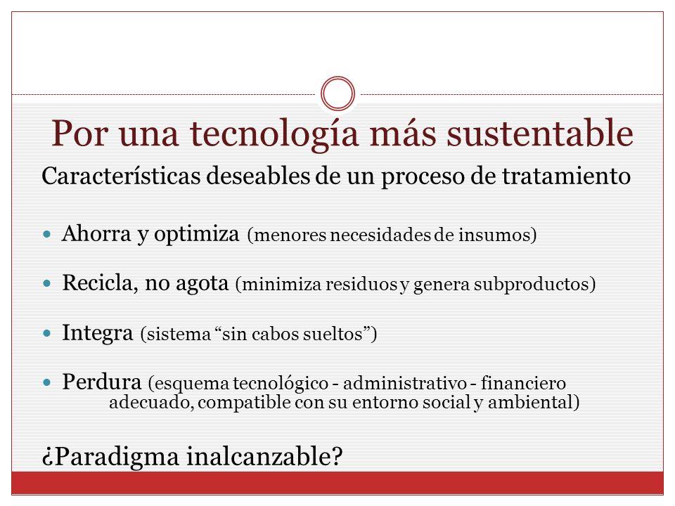 Por una tecnología más sustentable