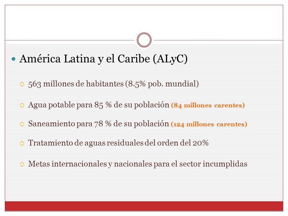 América Latina y el Caribe (ALyC)