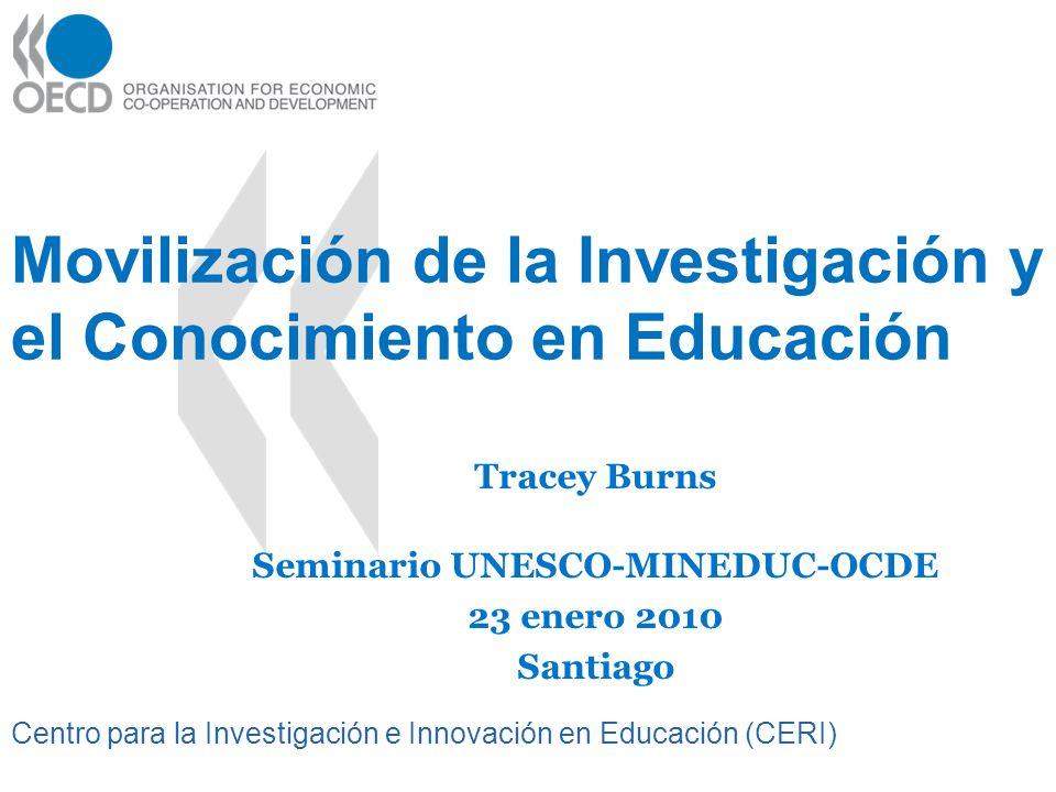 Movilización de la Investigación y el Conocimiento en Educación