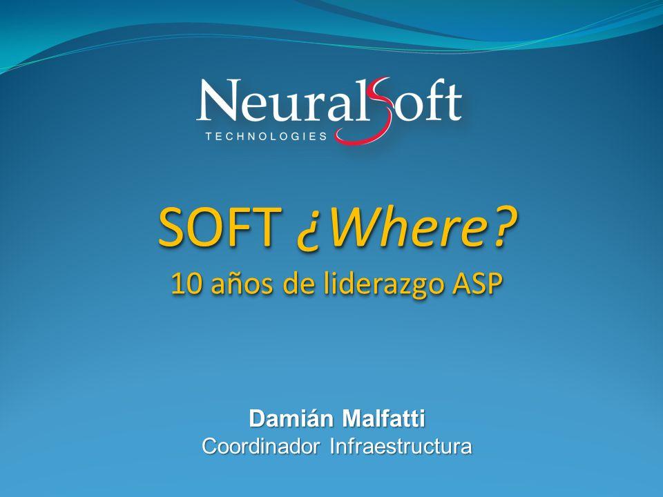 Damián Malfatti Coordinador Infraestructura