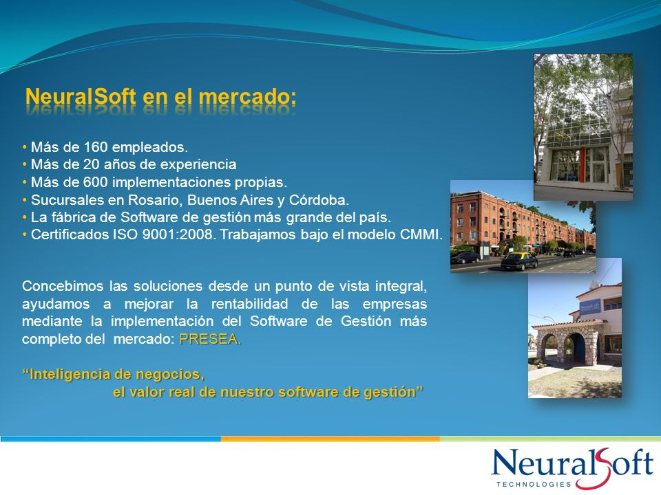 NeuralSoft en el mercado: