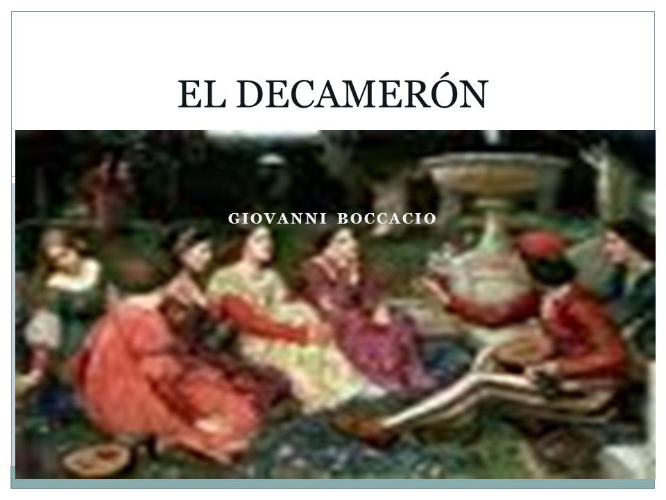 EL DECAMERÓN GIOVANNI BOCCACIO