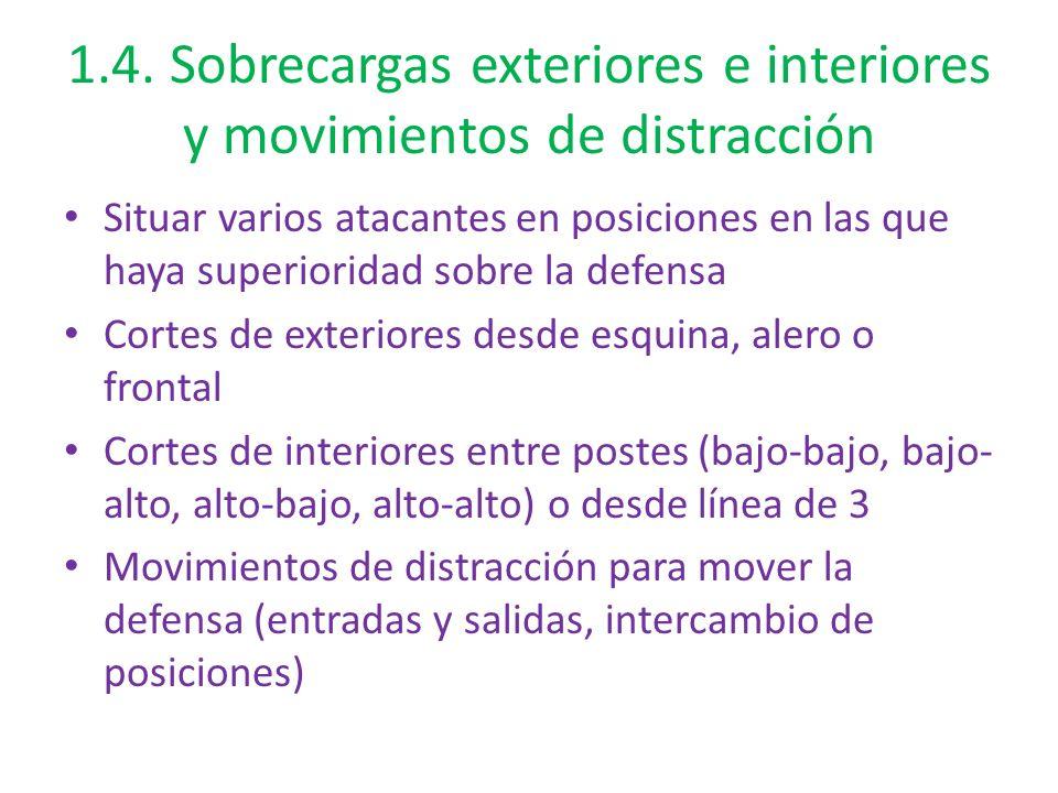1.4. Sobrecargas exteriores e interiores y movimientos de distracción