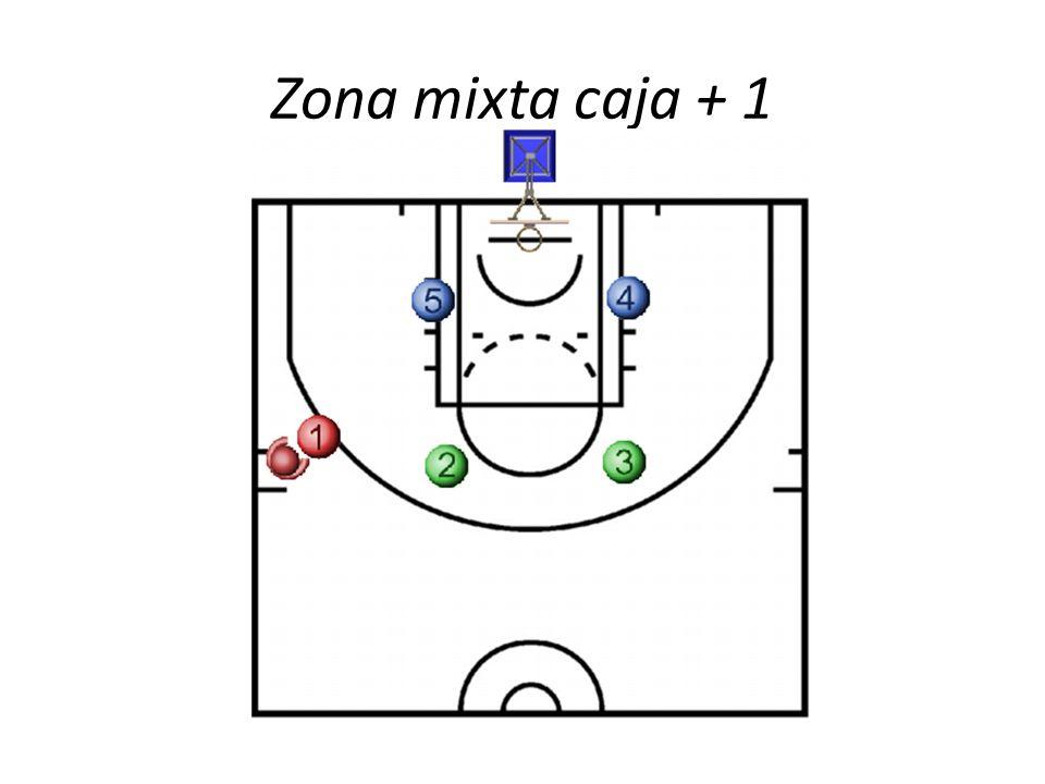Zona mixta caja + 1