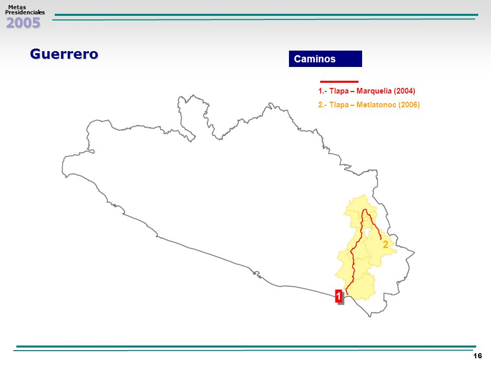 Guerrero Caminos 1.- Tlapa – Marquelia (2004)
