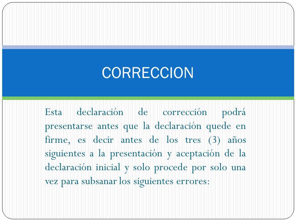 CORRECCION