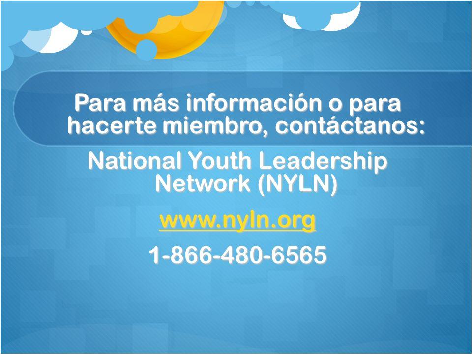 Para más información o para hacerte miembro, contáctanos:
