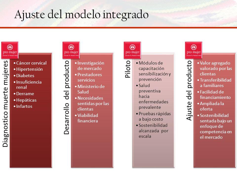 Ajuste del modelo integrado