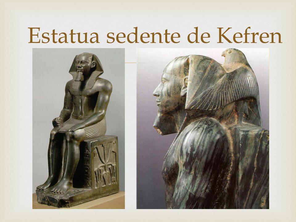 Estatua sedente de Kefren