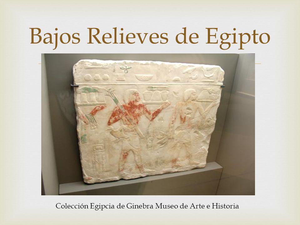 Bajos Relieves de Egipto