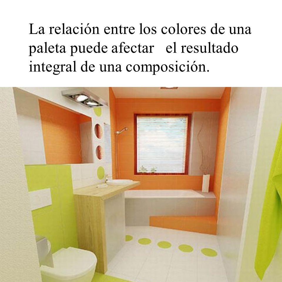 La relación entre los colores de una paleta puede afectar el resultado integral de una composición.