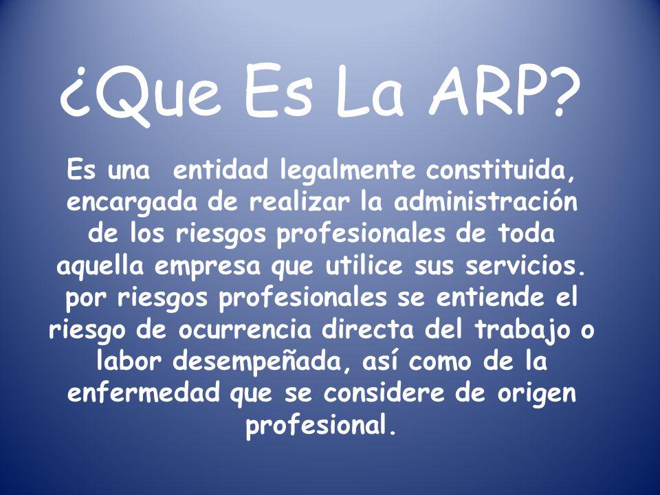 ¿Que Es La ARP