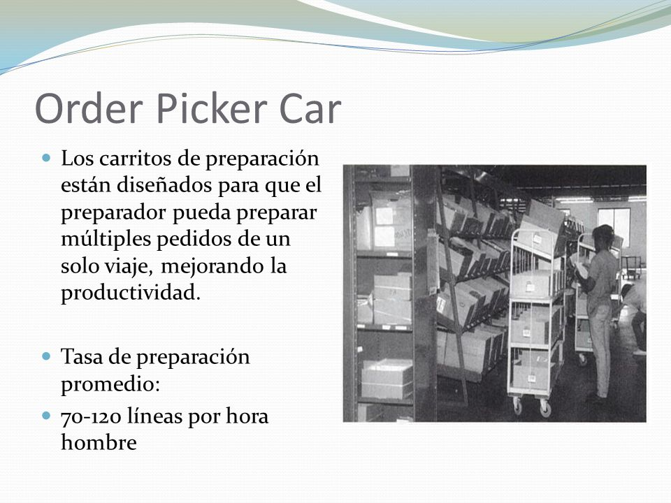 Order Picker Car
