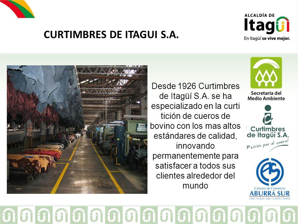 CURTIMBRES DE ITAGUI S.A.