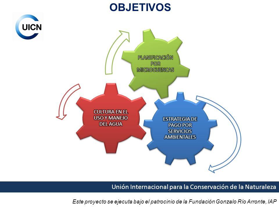 OBJETIVOS Unión Internacional para la Conservación de la Naturaleza