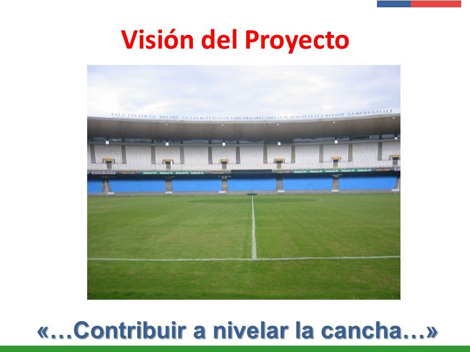 Visión del Proyecto «…Contribuir a nivelar la cancha…»