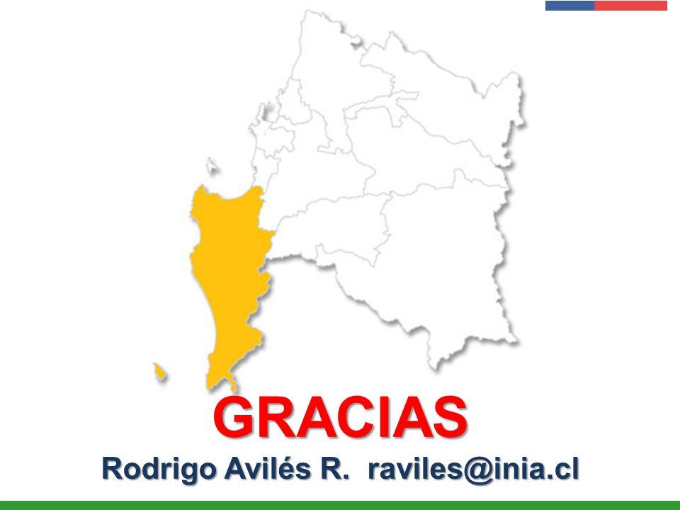 Rodrigo Avilés R. raviles@inia.cl