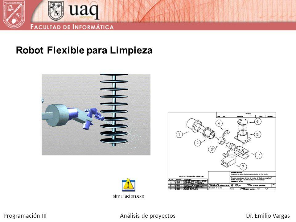 Robot Flexible para Limpieza