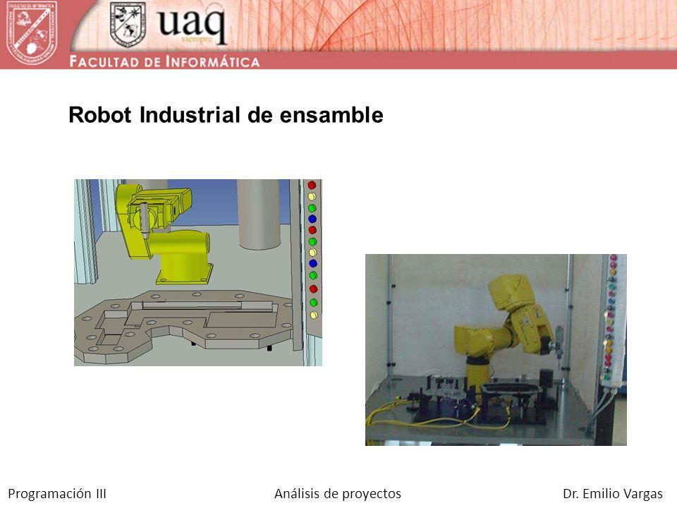 Robot Industrial de ensamble