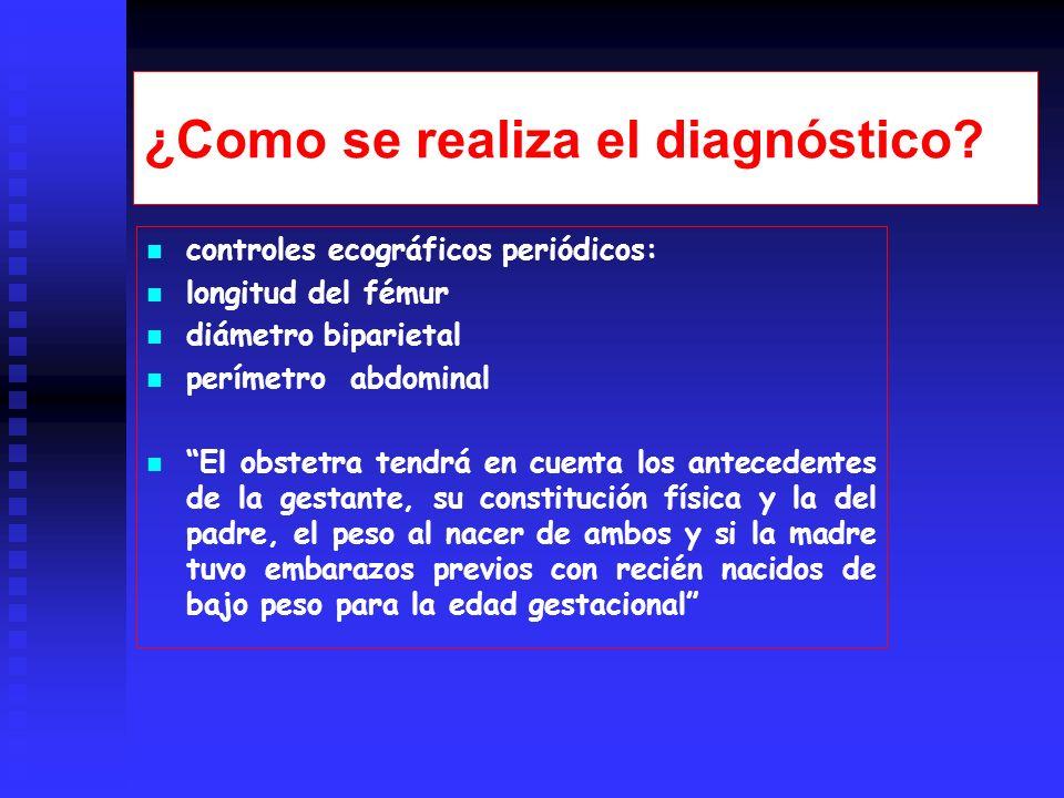 ¿Como se realiza el diagnóstico