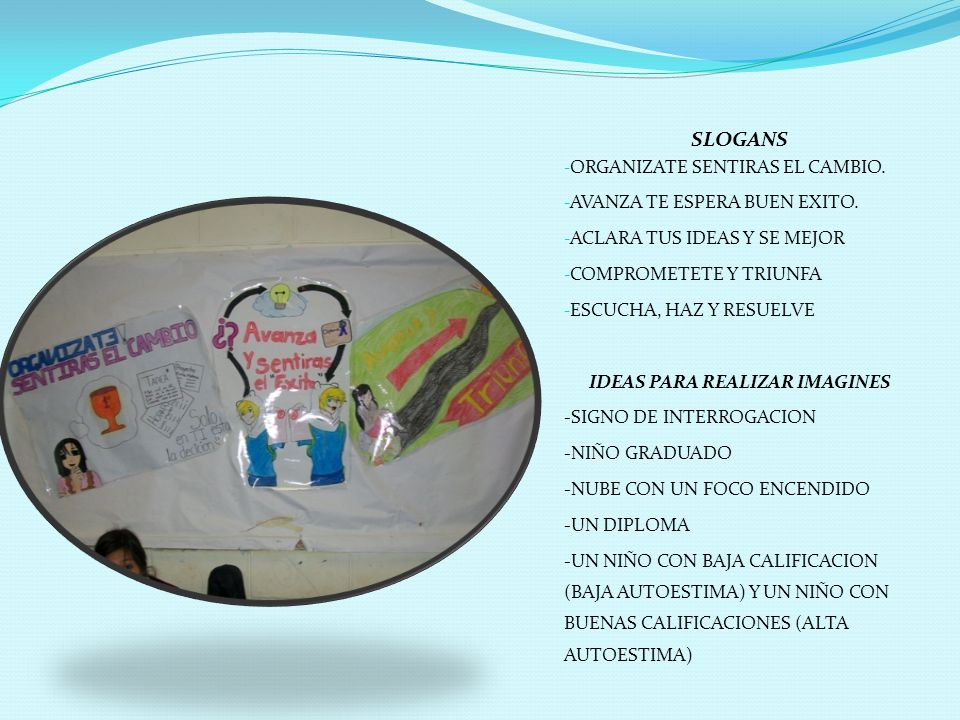 IDEAS PARA REALIZAR IMAGINES