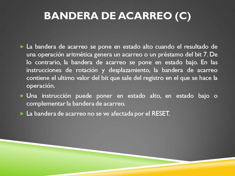 BANDERA DE ACARREO (C)