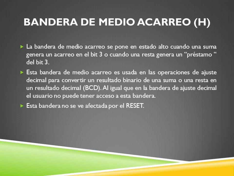 BANDERA DE MEDIO ACARREO (H)